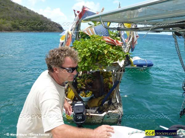 La spesa da Gregory :-) - Saint Lucia