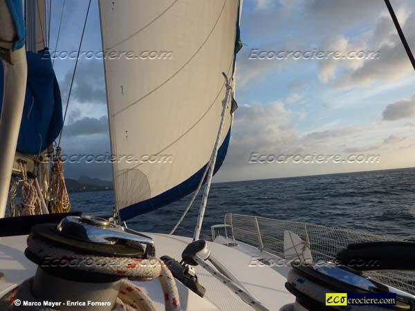 Sailing al tramonto