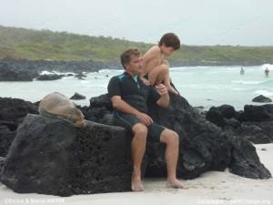 Un giorno in spiaggia fra i leoni marini